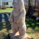 "Chainsaw Bear ""Staton"" left"