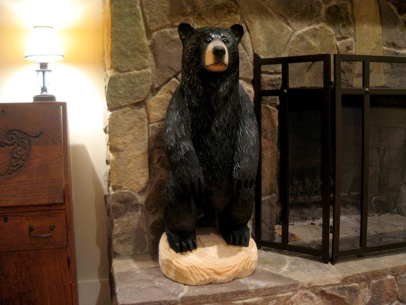 Chainsaw black bear henry wintergreen resort sleepy