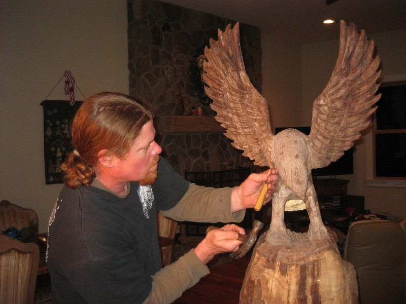 Eagle in the works
