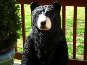 Chainsaw Bear, Kenneth, detail