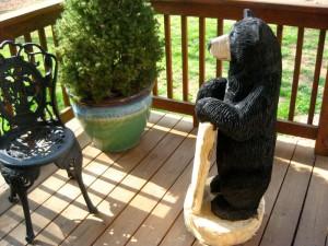 Chainsaw Bear, Marx, side view