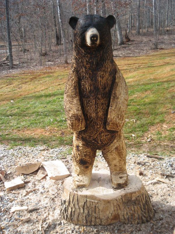 Brown bear toby sleepy hollow art