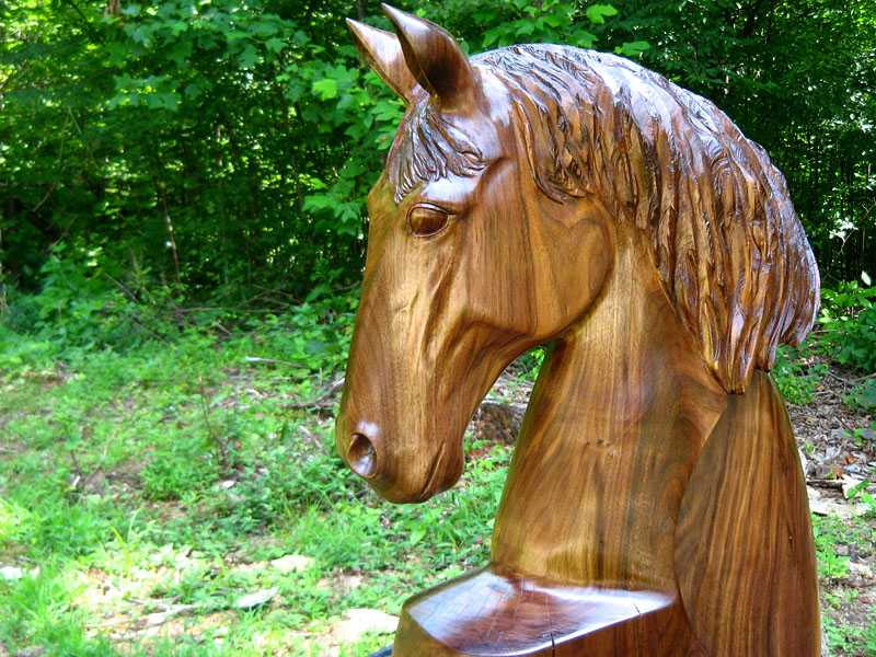 Wood Sculpture And Chainsaw Carving Sleepy Hollow Art