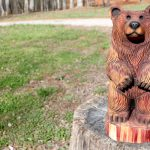 Cedar Rusty Bear