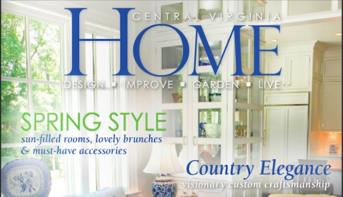Featured in Central Virginia HOME magazine