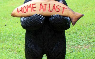 Home At Last black bear